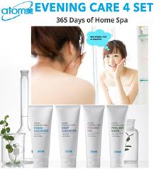 NEW KOREA  ATOMY EVENING CARE FOAM CLEANSER DEEP CLEANSER PEELING GEL PEELING MASK FACE CARE atom