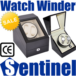 Professional Automatic Battery DC Powered Watch Winder Winding Watches Box Case Storage Free Adapter