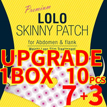 1 BOX = 10ea / Diet patch abdominal management paw control / cellulite Decrease effect
