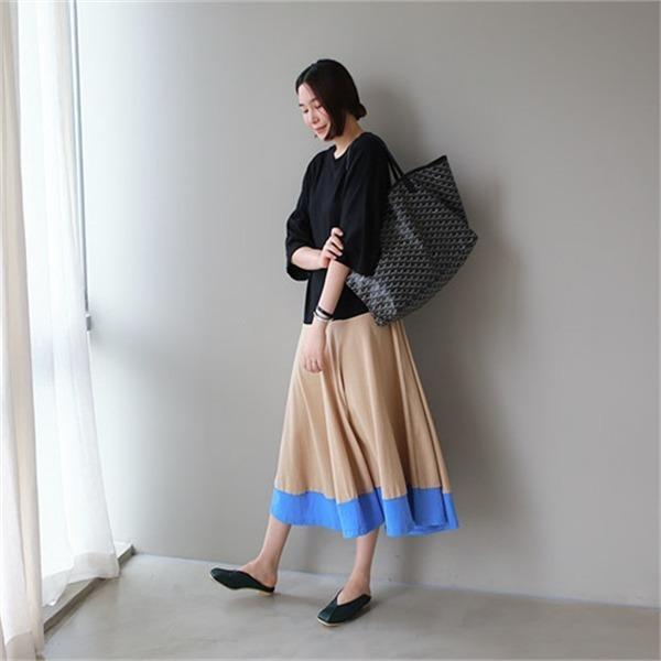 シモン・ワンピース1185 new フレアワンピース/ワンピース/韓国ファッション