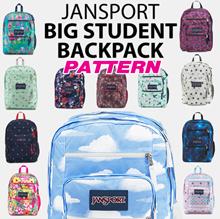 [JANSPORT] Original BIG STUDENT Pattern Backpack 16type school bag