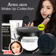 [NEW] April Skin - Magic Cushion 2.0 / Magic Cushion Black / Cushion White / Snow Cream