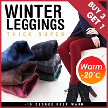 [BUY 3 GET 1 FREE] Winter Leggings For -20 Degree travel/innerwear/ Plus size Thermal