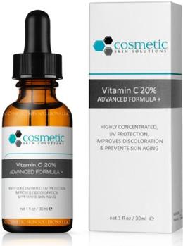 Cosmetic Skin Solutions LLC #1 BEST Vitamin C 20% Serum + Ferulic Acid  Hyaluronic Acid For Maximum