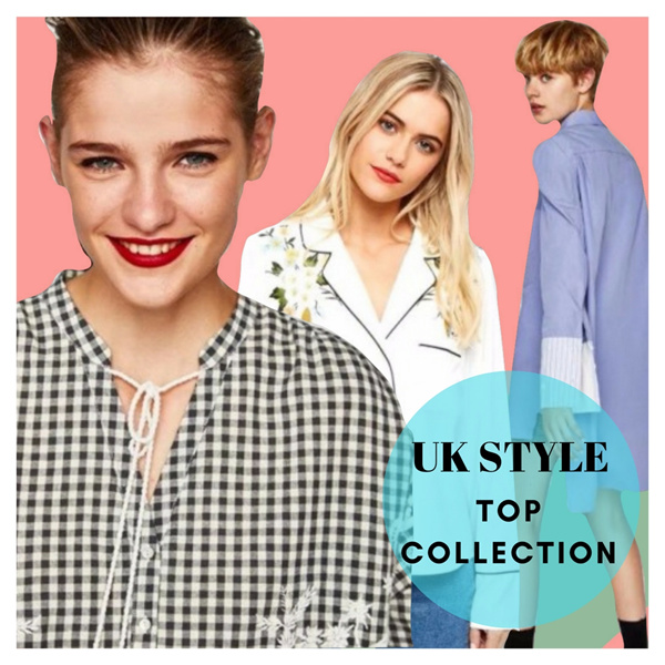 NEW 2017 WOMEN BLOUSE COLLECTION / UK STYLE Kemeja / Blouse / Top / Fashion Style / Baju Wanita / Ke Deals for only Rp149.000 instead of Rp149.000