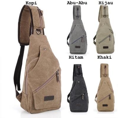 BA015 Sling Bag - khaki