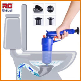 [RC-Global] Wash Basin / Floor Drain / Toilet Plunger High Pressure Air Drain Blaster (Set of 6)