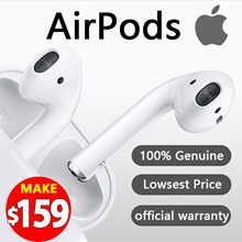 [ 100% Genuine ] Apple  AirPods  Wireless headset ★1 year  official warranty ★Ready Stock