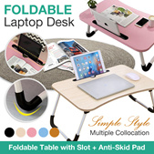 *CHEAPEST* Quality Foldable Table/Portable Laptop Desk PC Bed/Laptop Table / Bed table