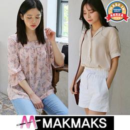 ♣ New arrival Korea Short Sleeve Blouse ♣ Women Fashion/Sleeveless/Linen/Cotton/chiffon/lace