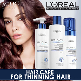 LOREAL SERIOXYL Hair Care For Thinning Hair / Shampoo / Conditioner / Foam