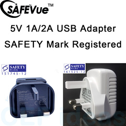 SAFEVue SAFETY MARK Approved Power Adapter 5V-1A 1 USB | Local Warranty