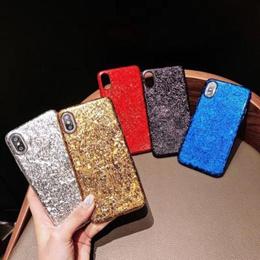 iPhone Xs Max XR 360 Full Cover iPhone 6 6S 7 8 Plus X Capa KASONPAI 3D Luxury Bling Glitter Hard