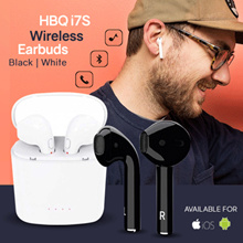 [ORIGINAL] HBQ I7s TWS Bluetooth V4.2+EDR Stereo Wireless Headset Compatible with iPhone - Android