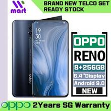 (Telco) Oppo Reno 256GB ROM 6.4in 8GB RAM (2 Years Oppo Singapore Warranty)