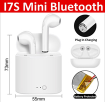 Bluetooth Wireless Earphone Earbuds Earpiece For IPhone Samsung Xiaomi Box Charger I7S Tws Mini