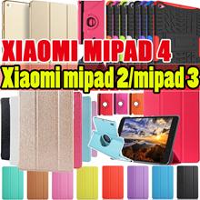 Xiaomi mipad 4 2 3 smart case  tempered glass stand holder case  for mi pad 4 case new xiaomi