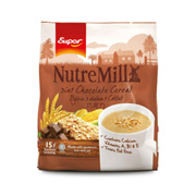 SUPER NUTREMILL 3in1 Chocolate Cereal 30g x 15 Sticks Pouch