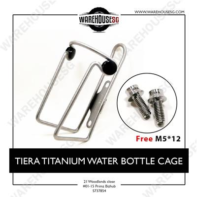 6PCS Titanium Ti M6x18mm Bolt Taper Head Conical Head Screw Rainbow