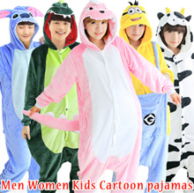 2018 Couples pajamas ♥ Children pajamas / Cartoon sleepwear / Animal underwear / family night-gown