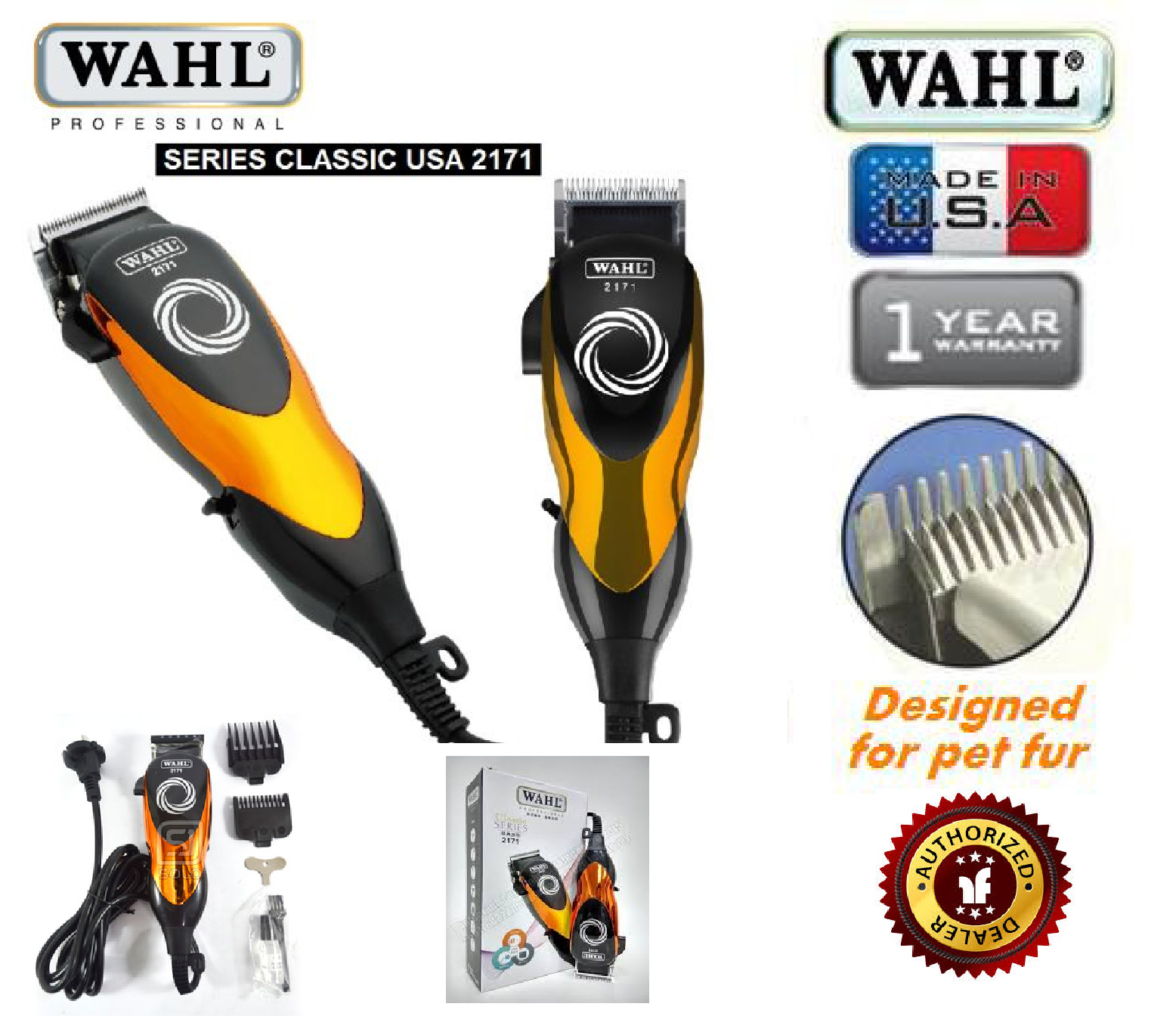 Show All Item Images. close. fit to viewer. prev next. RAYA OFFER WAHL 2171 Original  Professional Heavy Duty GOLD Hair Clipper ( POTONG RAMBUT ) 7e6f1c59c9