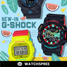 *APPLY 25% OFF COUPONS* G-SHOCK NEW IN 2017/2018 NEW MODELS COLLECTION. Free Shipping and Warranty.