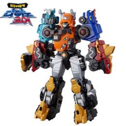 🥇◀TODAY COUPON EVENT▶DINOCORE★5-Levels D-SABER TRI Combination Robot/ Animation Robot/ MADE KOREA