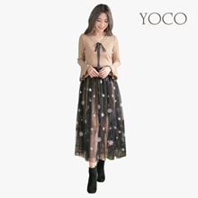 YOCO - 2-Piece Knitted Dress and Skirt-172822-Winter