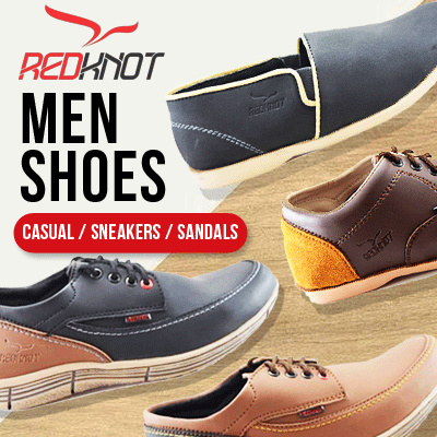 NEW COLLECTION / REDKNOT / SEPATU PRIA / SEPATU KASUAL / SNEAKERS / FREE SANDALS Deals for only Rp149.000 instead of Rp149.000