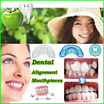 ▶Teeth Alignment Brace◀ Dental Tooth Orthodontic Appliance Trainer Alignment Braces Mouthpieces For Teeth Straight/Alignment/Food grade safe material/ Become beautiful/ 2 model-Soft n