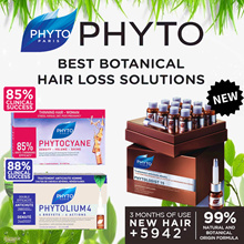 PHYTO Phytocyane | Phytolium | Phytologist Thinning Hair Treatment. Clinically Proven 88% success.