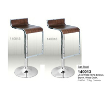 Set of 2 Units Isabella Wood Bar Chair Bar Counter Bar Stool L440MM W350MM H670-870MM