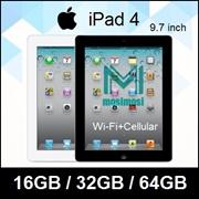 Apple iPad 4 / iPad Air / WIFI+Cellular / 16GB / 64GB / 128GB / Refurbished