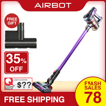 Airbot iRoom 17KPa 45mins Cyclone Cordless Vacuum Portal Handheld Car Cleaner Motorized Mite Killer