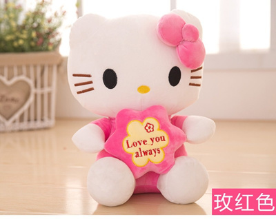 Hello Kitty Plush Toys : Hello kitty apparently has a reversible plush line straight from hell