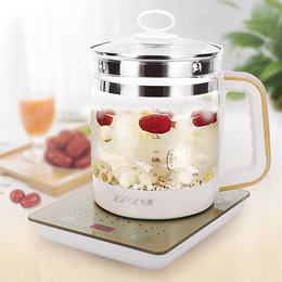 Multi-functional Electric Glass Kettle Healthpot Stainless Steel Heating Plate 1.8L Curing Pot