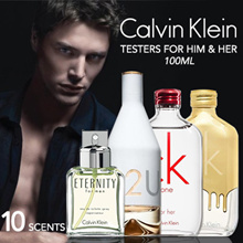 CK Testers 100ml Full Range