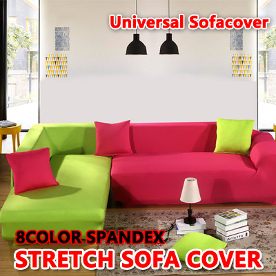 Qoo10 Universal Super Sofa Cover Spandex Stretch Elasticity Furniture Deco