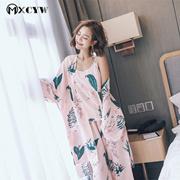 2018 Winter Robe Women Pyjamas Set Nightwear Sexy Nightgowns Sleepwear  Homewear Clothes Bathrobe Fem 5566707e0
