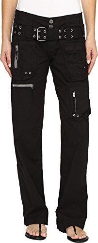 edf6e690f372 Qoo10 - Johnny Was Womens Poplin Cargo Pants Black Edge Pants ...