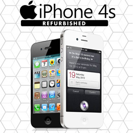 Iphone 4s 16Gb/Black/White Refurbished Set As Good As Brand New! Best Price in Qoo10
