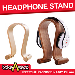 Headphone Stand Holder / Headset Stand / Earphone Earpiece Display
