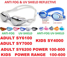 Anti fog/UV shield Adult/ kids Swimming goggles/Diving goggles adjustable lengthPrescription Underwater Degree Len Glasses Googles for Shortsighted Eyes Or Normal Vision FREE Ear Plug