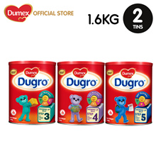 【Bundle of 2 】Dumex Dugro Stage 3 / 4 / 5 Growing Up Milk Formula 1.6kg-2tins