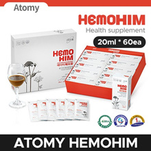★Qoo10 Lowest Price ★ATOMY HEMOHIM★ Health supplement (20ml * 60EA) Authentic / Made in Korea/