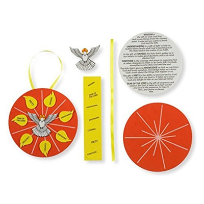 (Confirmation Gifts) Gifts of the Holy Spirit Confirmation Foam Arts and Crafts Kit,