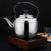 5L Big Capacity high quality Stainless steel water kettle cooker camping kettles stove kettle whistl