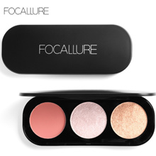 FOCALLURE Blush On and Highlighter