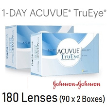 ACUVUE One day TruEye 90 Lenses  x 2 boxes [180 LENSES]