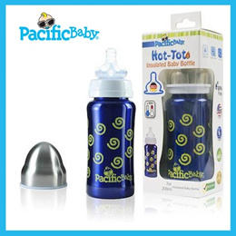 PACIFIC BABY HOT-TOT INSULATED BABY BOTTLE 7OZ and 4OZ BABY TODDLER BOTTLE 9 OZ